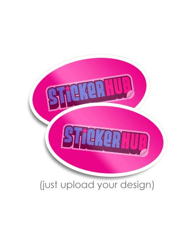 Oval Sticker Thumbnail
