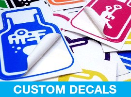 Order Stickers, Die-Cut Stickers, Custom Decals, Online At